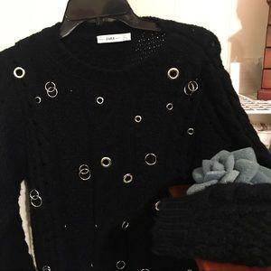 Zara knit, Black sweater